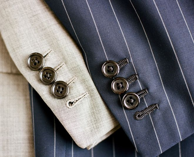 Working buttonholes belong on every handmade Oxxford suit  @eriktampa 727-916-7848
