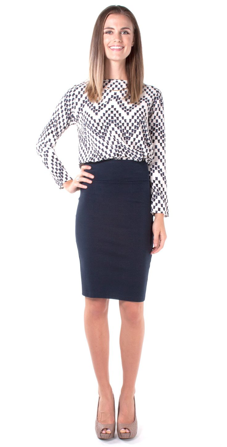 One of the most famous types of straight skirts is the pencil skirt. It can look perfect on almost any figure and is suitable both for work, business meetings and for going out in the evening. This is a universal style that emphasizes all the merits of the figure and allows for both authority and femininity.