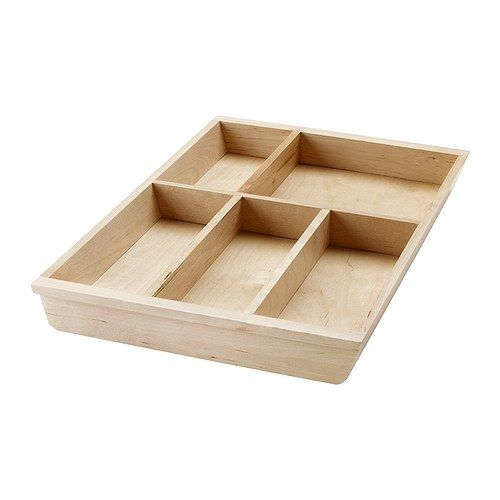 Sm Rassel Box With Lid White Ikea Cutlery Trays And