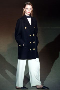 Saint Laurent | Spring 2002 Couture Collection | Style.com - The Pea Coat, 1962