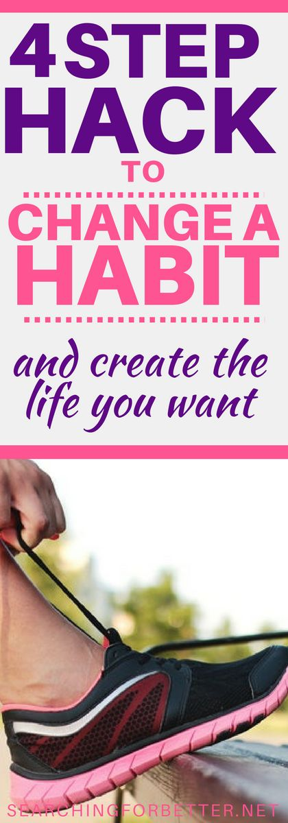 Helpful tips on changing habits! This was a great read to see how to change your daily routines and find motivation. Great inspiration for losing weight and healthy eating habits!