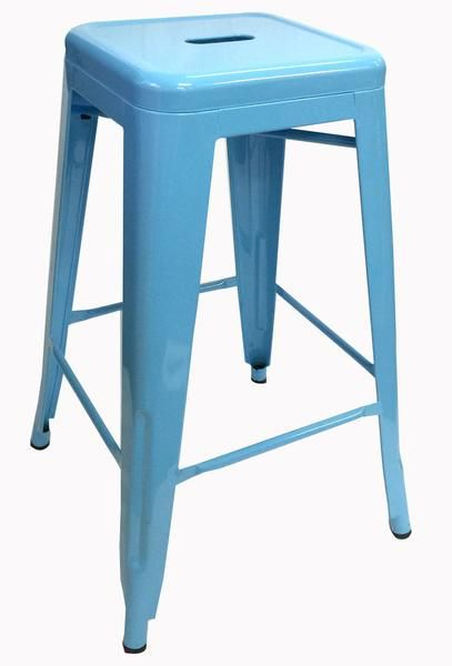 Buy Replica Tolix Stool 66cm Light Blue Online at Factory Direct Prices w/FAST, Insured, Australia-Wide Shipping. Visit our Website or Phone 08-9477-3441
