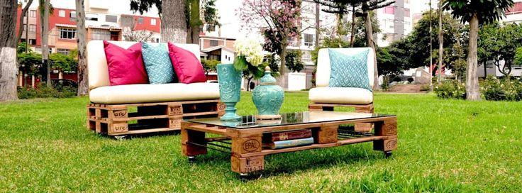 rustieke & brocante Tuin door Palets&Deco