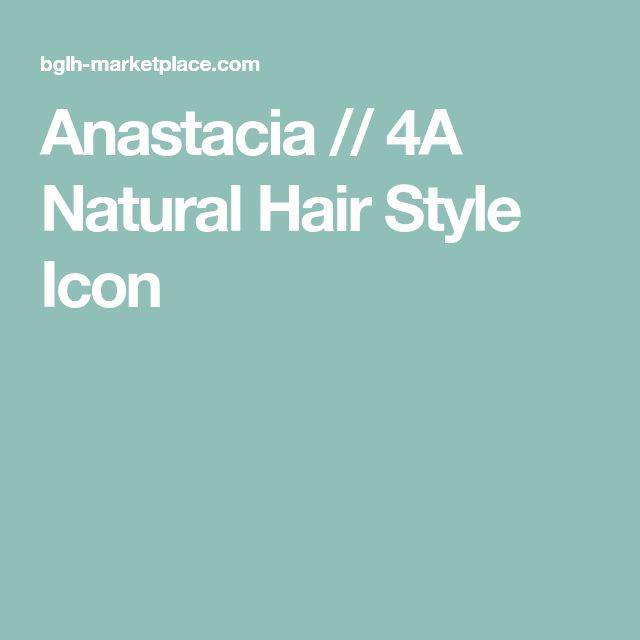 Anastacia // 4A Natural Hair Style Icon