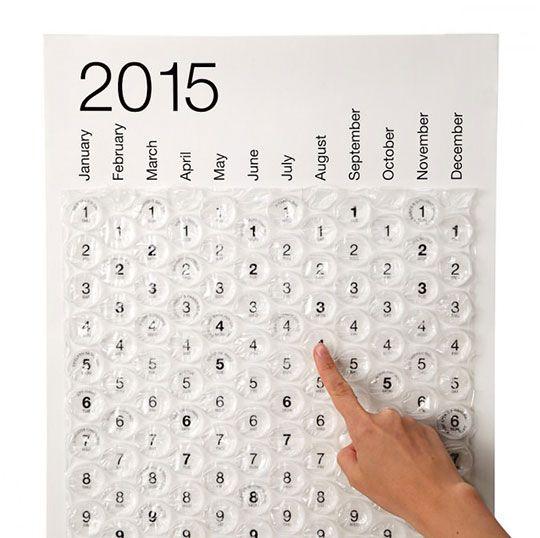 The Bubble Wrap Calendar