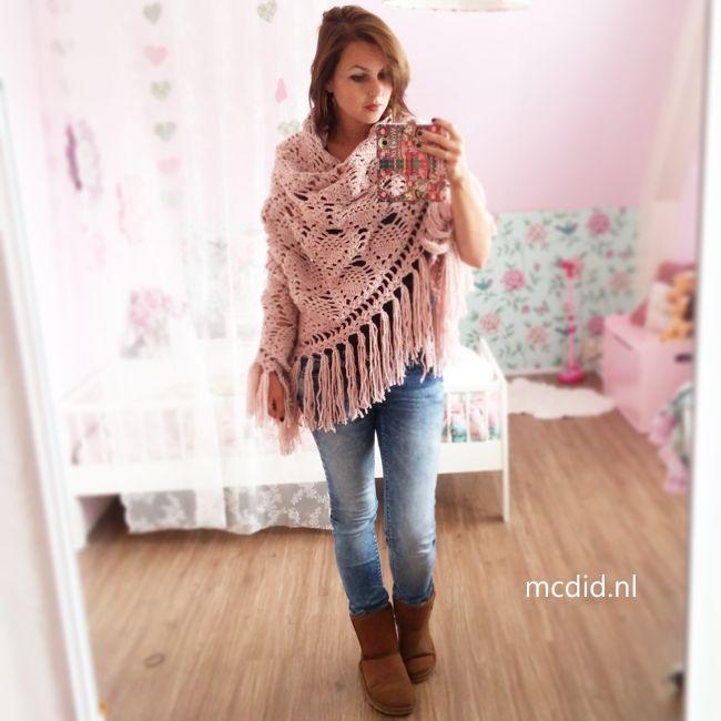 Geweldige omslagdoek! Love de nieuwe Julia-wol van de Zeeman ♥