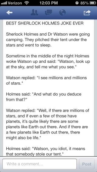LOL - as usual, Watson, you see but you do not observe!