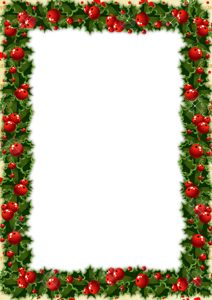 Transparent_Christmas_Photo_Frame_with_Mistletoe (1).png