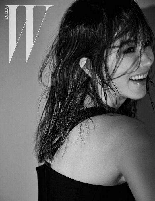 Uhm Jung Hwa - W Magazine February Issue '15