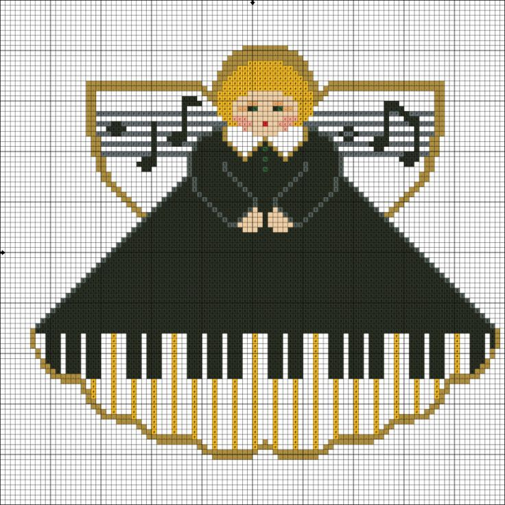 (4) Gallery.ru / Фото #2 - Ангел уроков на фортепиано - ksuxa24
