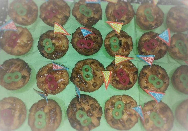 Mini appeltaartjes voor mijn dochter haar 8ste verjaardag