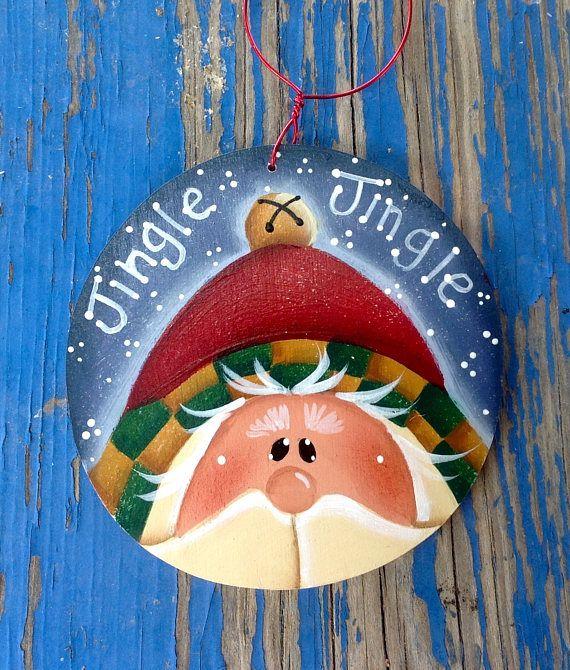 2017 nuevo Jingle Jingle Santa ornamento