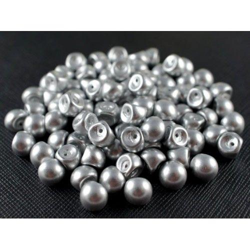 http://www.scarabeads.com/Glass-BEADS/Mushroom-Beads/25pcs-Mushroom-beads-9x8mm-Crystal-Aluminum-Silver-Matte