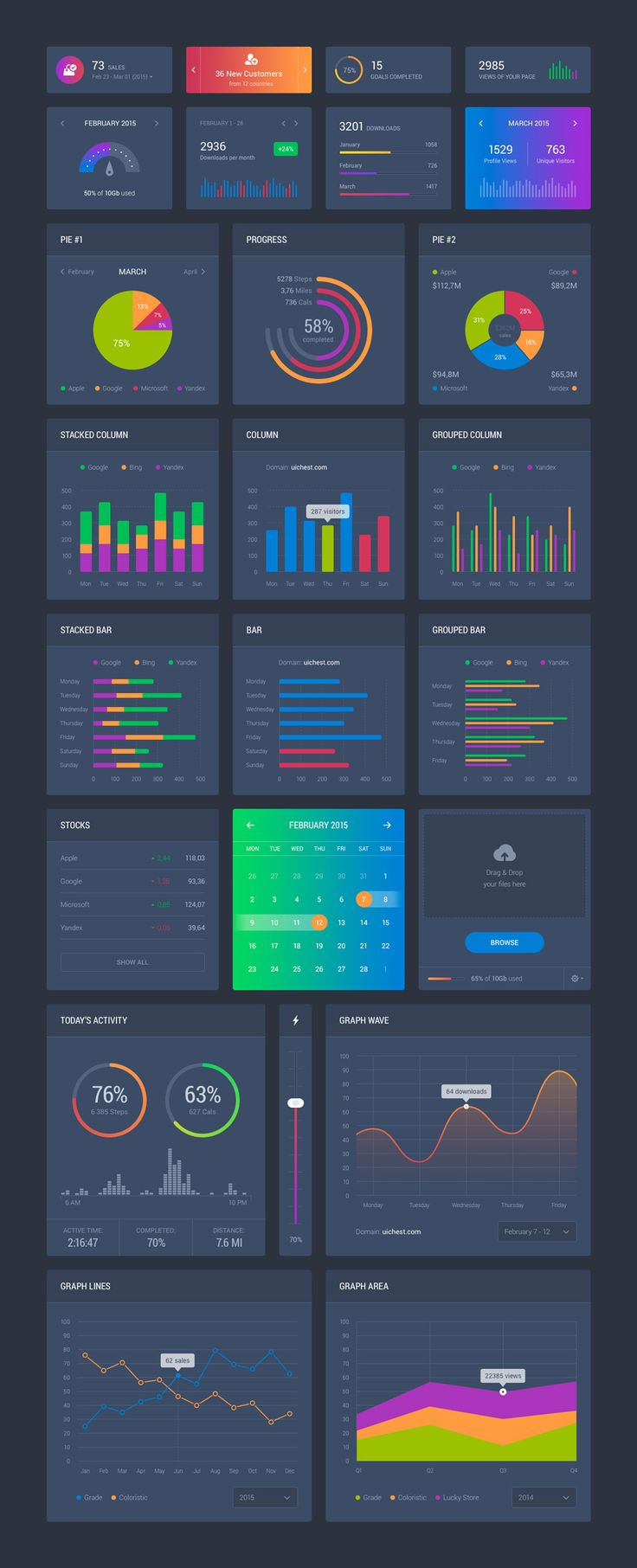 Dribbble - dashboard_dark.jpg by Sergey Azovskiy