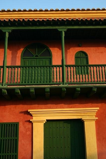 colonial architecture, Cartagena de las Indias, Colombia ~ UNESCO World Heritage Site