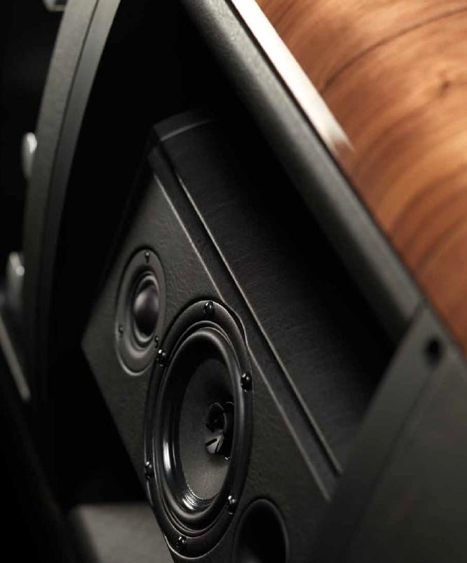 The Sonus faber - Sound Field Shaper (Patent Pending)