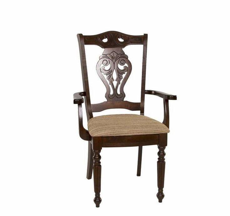 Стул 5719 A Cappuccino с сиденьем (Темный орех)