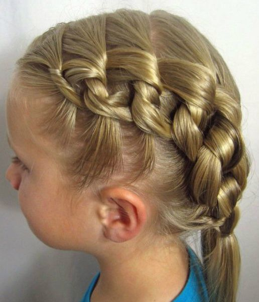 Unique Braided Hairstyles For Little Girls