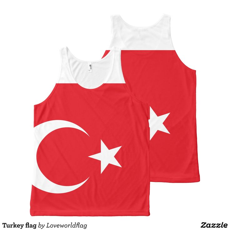 Turkey flag All-Over-Print tank top - Comfy Moisture-Wicking Sport Tank Tops By Talented Fashion & Graphic Designers - #tanktops #gym #exercise #workout #mensfashion #apparel #shopping #bargain #sale #outfit #stylish #cool #graphicdesign #trendy #fashion #design #fashiondesign #designer #fashiondesigner #style