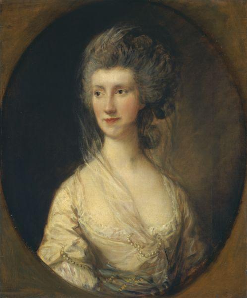 Mrs John Taylor, Thomas Gainsborough, 1778