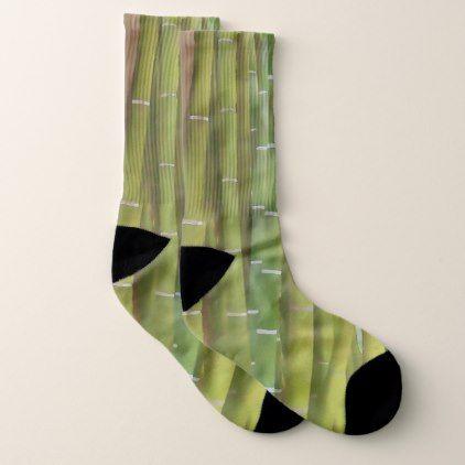 Closeup of bamboo stalk socks - original gifts diy cyo customize