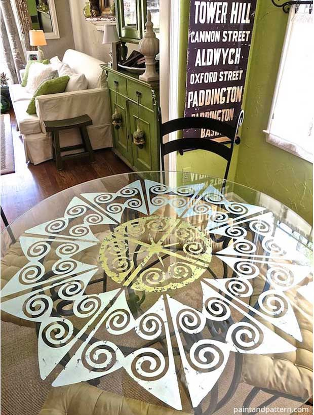 94 Best Furniture Painting Stencils Images On Pinterest