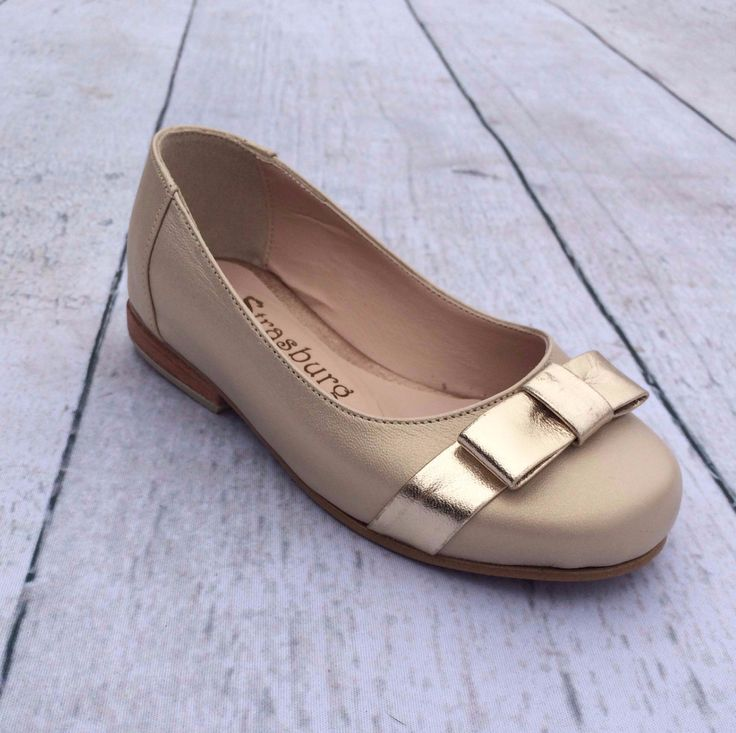 Gold Ballet Shoes