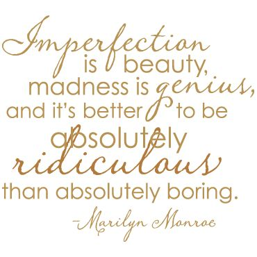 Outlet: Imperfection is Beauty