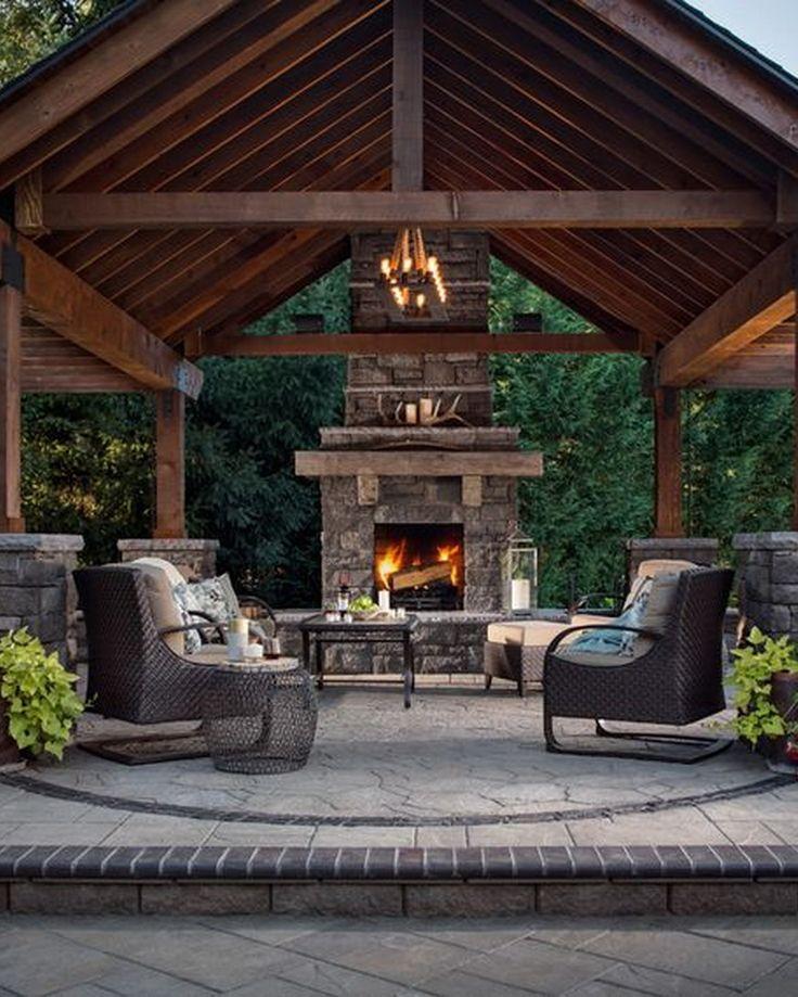 31 Gorgeous Outdoor Living Spaces Patio IdeasPergola