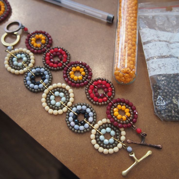 "Making Of ... ""Cirlce Line"" Armband"