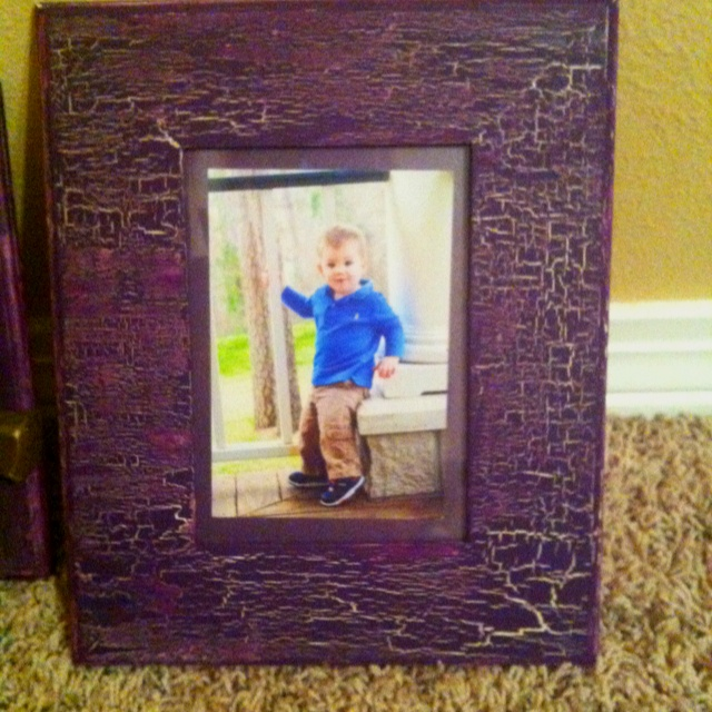Made this frame tonight!