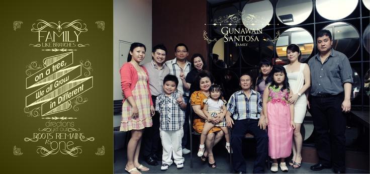Gunawan Santosa Family
