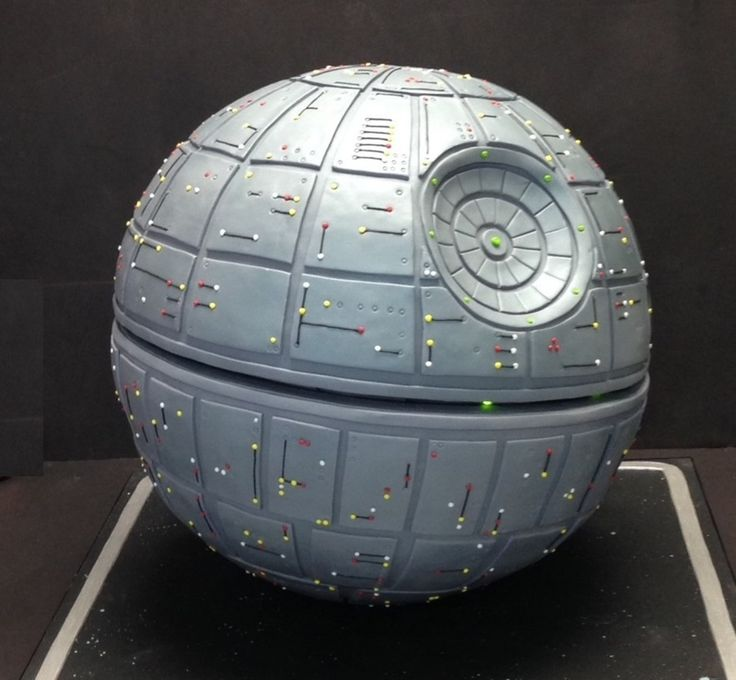 Death Star Groom's Cake on Cake Central                                                                                                                                                      Más
