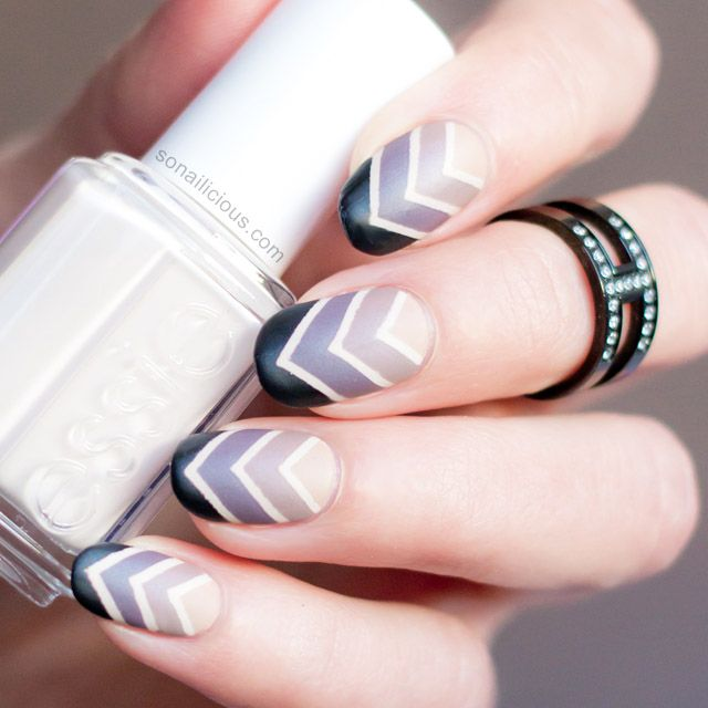 Roman Holiday Gradient Nail Art – Tutorial