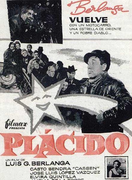 Plácido (1961) España. Dir: Luis García Berlanga. Comedia. Sátira. Cine social - DVD CINE 104
