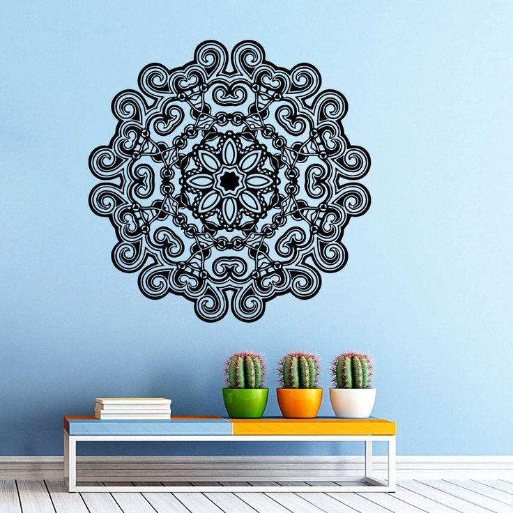 25 best ideas about mandala mural on pinterest pochoirs muraux peindre - Pochoir mural a peindre ...