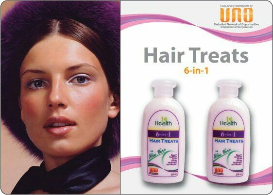 6-in-1 SHAMPOO, CONDITIONER, HOT OIL, HAIR SPA TREATMENT, ANTI-DANDRUFF & ANTI-HAIRFALL Formula! Hair Treats with Aloe Vera revitalizes & cleanses hair gently without drying. It helps prevent dandruff & release tangles. Formulated with Aloe Vera and Patchouli, it provides moisture, prevents falling hair & leaves your hair bouncy, healthy, soft, silky and shiny from your very first treatment! No need to buy separate products, you get everything you need for haircare in one bottle!