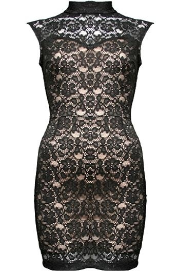 new lace dress!!!!: Black Lace