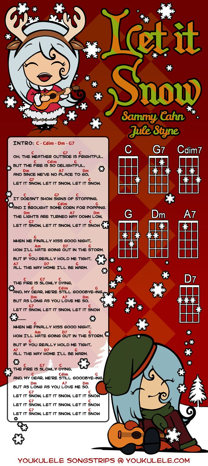 Sammy Cahn, Jule Styne - Let It Snow (ukulele)