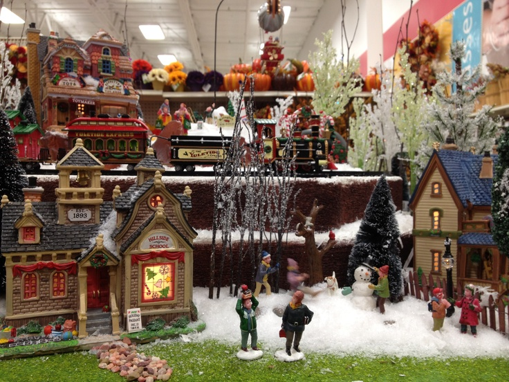 29 best images about lemax displays michaels on - Christmas Village Sets Michaels