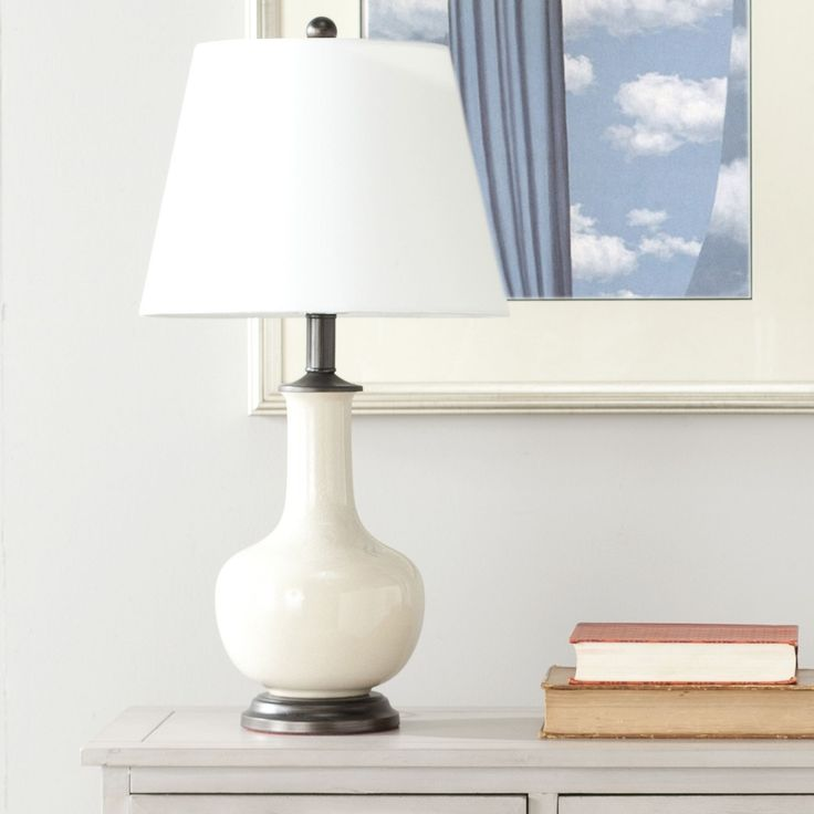 Safavieh Lighting 22-inch Danielle Cream Table L&s (Set of 2) (LIT4022A & Best 25+ Cream table lamps ideas on Pinterest | Diy table lamps ... azcodes.com