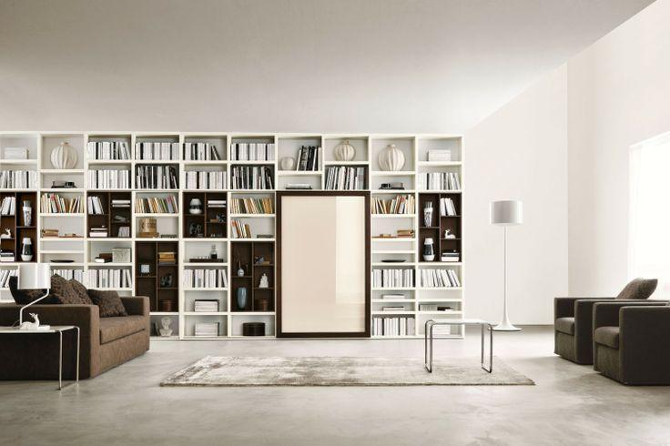 Libreria a Giorno Componibile a Soffitto 558 - Napol.it