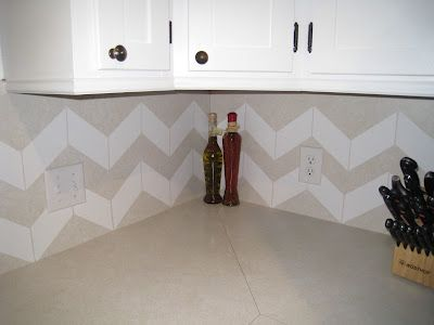 great temp solution for my kitchen vinyl contact paper backsplash