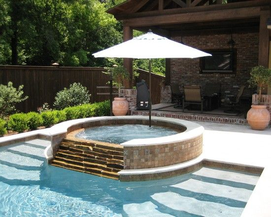 Pool Designs With Spa 117 best swimming pool/spa ideas images on pinterest | backyard