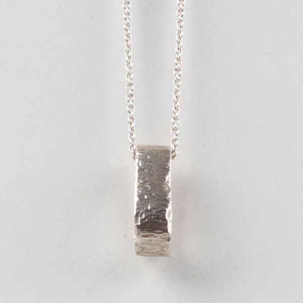 Medulla Pendant - Silver | DARKBLACK $270 NZD