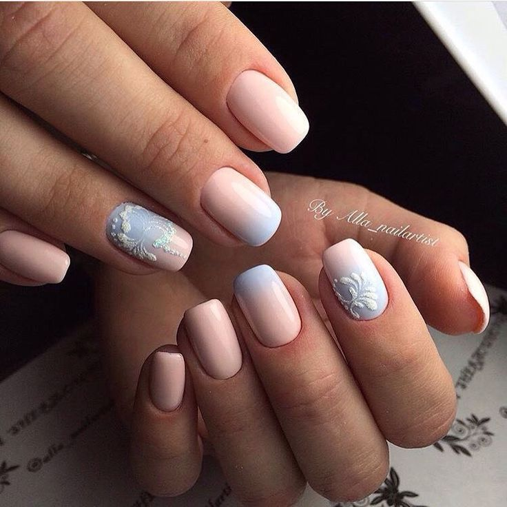 The 24 best Gradient nails images on Pinterest | Autumn nails, Fall ...