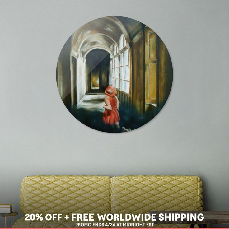 Discover «Lost in time or in silence...», Exclusive Edition Disk Print by Ildikó Csegöldi Décsei - From $85 - Curioos