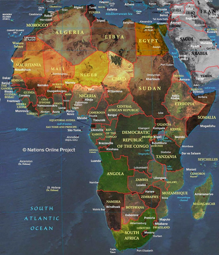 africa 335 best World Maps images on
