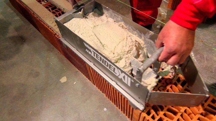 Nueva herramienta para el vertido de tendeles - NOVEDAD 2012 Ventajas frente método tradicional: MÁS RÁPIDO: - Vertido de tendeles un 25% más rápido. - Rápid...