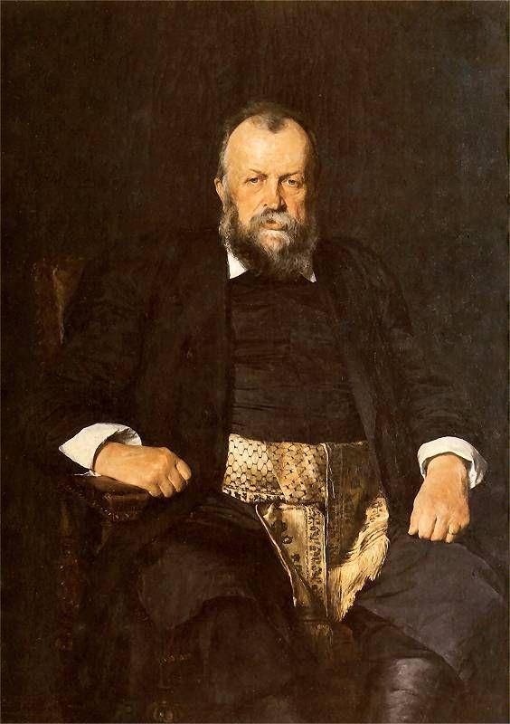 Portrait of Włodzimierz Dzieduszycki 1900е